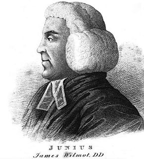James Wilmot clergyman, scholar