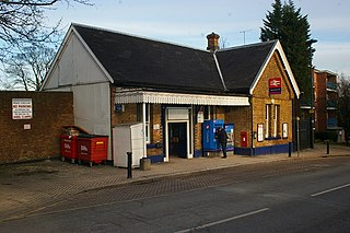 Winchmore Hill railway station