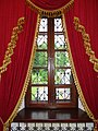 Window with Brocaded Curtain - Mansion Where Russo-German Armistice Was Signed - December 1917 - Outside Brest - Belarus (27359540262).jpg