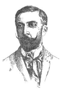 Wojciech Szukiewicz, z książki 'Odrodzenie etyczne' 1907 (portret)