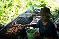 Woman selling foods at Taling Chan market.jpg