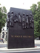 Women of World War II memorial, Whitehall - DSC08095