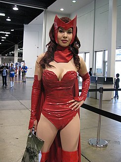 WonderCon 2014 - Scarlet Witch Cosplay (13954951695).jpg