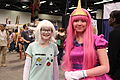 WonderCon 2015 - BMO and Princess Bubblegum (Adventure Time) cosplay (16842173277).jpg