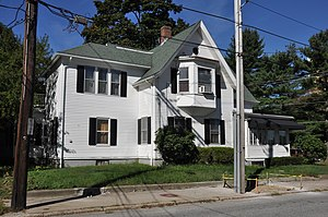 Pothier House - Image: Woonsocket RI Pothier House