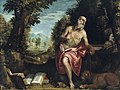 Workshop of Paolo Veronese - Saint Jerome in the Wilderness - 1947.117 - Art Institute of Chicago.jpg