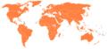 World Intellectual Property Organization (WIPO) members world map.png