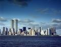World Trade Center Towers and New York skyline, pre-9-11, New York, New York LCCN2011630653.tif