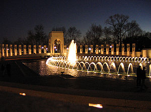 National World War II Memorial, Washington, D.C..