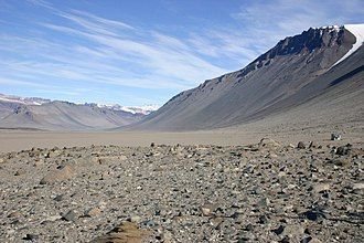 Antarctic oasis - Wright Valley, McMurdo Dry Valleys