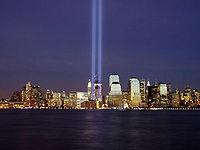 Manhattan visto desde Nueva Jersey en 2004