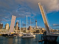 Wynyard Crossing, bridge in Wynyard Quarter, Auckland..jpg