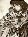 Wyspiański - Dzieła malarskie - Macierzyństwo 1904.jpg