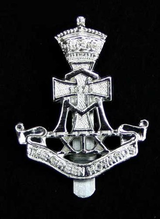 Green Howards - Green Howards cap badge