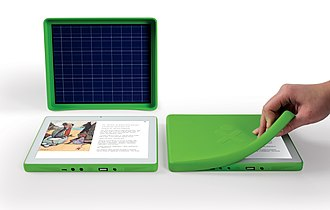 OLPC XO-3 - Image: XO 3 Photo 10 1