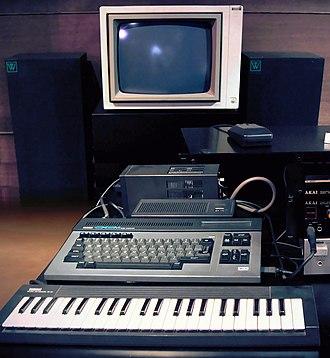 Yamaha CX5M - Yamaha CX5M Music Computer set