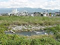 Yamanashi City Center from Fuefuki River, Yamanashi, Yamanashi, Japan.jpg