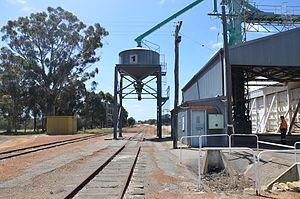 Yealering, Western Australia - View of Yealering silos, 2013.