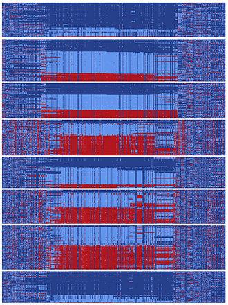 Gephyrin - Image: Yin yang DNA sequences encompassing human gephyrin gene