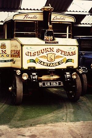 Tom Varley - Image: Yorkshire steam wagon, Pendle Laddie, front