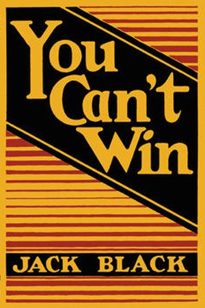 You Can't Win (book) - First edition cover