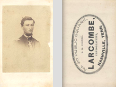 Young man in uniform by Larcombe of Nashville Tennessee.png