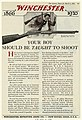 Your boy should be taught to shoot. Winchester advertisement.jpg