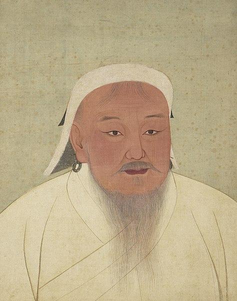 Genghis Khan's portrait