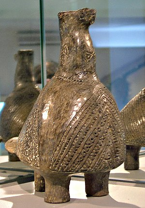 "Partridge - The so-called ""Vučedol dove"", one of the most well-known emblems of the prehistorical Vučedol culture, is now interpreted as representing a male partridge as a symbol of fertility"