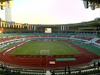 Football at the 2013 Southeast Asian Games - Image: Zayyarthiri Stadium