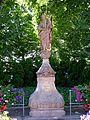 Zell a.H., Brunnen mit Muttergottes vor der Wallfahrtskirche 2.jpg