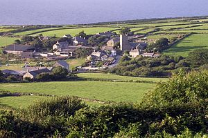 Zennor - Image: Zennor from trewey hill cornwall