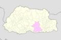 Zhemgang Bhutan location map.png