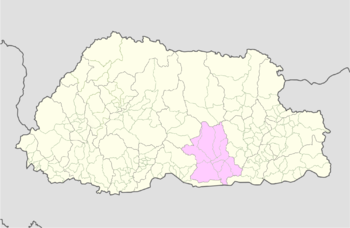 Location of Bardo Gewog
