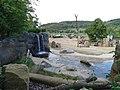 Zoo Praha, Údolí slonů, vodopád.jpg