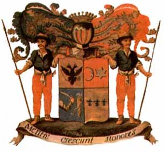 Zubov - Coat of arms of the Zubov family