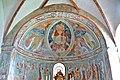 Zweinitz Pfarrkirche hl Egydius Chor got Fresko Maiestas Domini 22102014 544.jpg