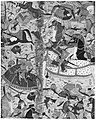 """""""Battle Between Iranians and Turanians"""", Folio from a Shahnama (Book of Kings) MET 171108.jpg"""