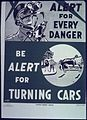 """Be alert for turning cars"" - NARA - 513925.jpg"