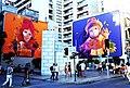 """Bellas Artes metro station"" Stgo-Chile - Street Art by INTI - Flickr - m.sanhuezacelsi.jpg"