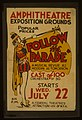 """Follow the parade"" (at the) Amphitheatre Exposition grounds LCCN98517707.jpg"