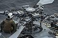 'Blackjacks' conduct Seahawk maintenance aboard USS America 140903-N-LD343-009.jpg