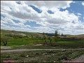 ((( نمایی از روستای گرتان مراغه))) - panoramio.jpg