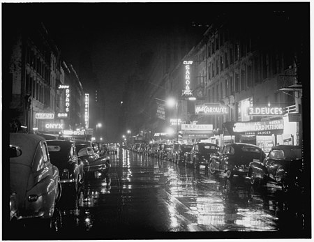 52nd Street, New York, 1948