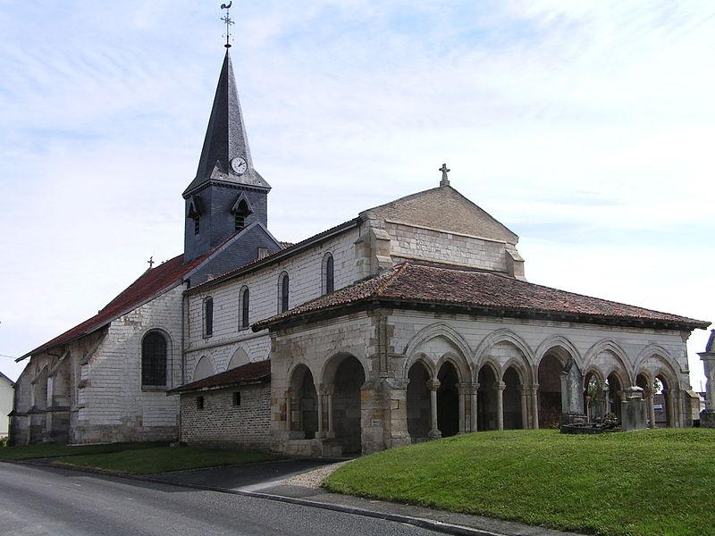 Église Saint-Memmies de Coupéville (Classé)