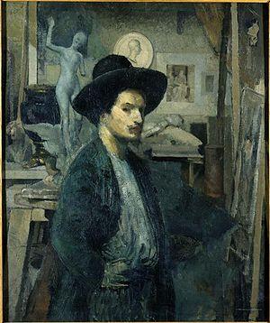 Émile-Antoine Bourdelle, Αυτοπροσωπογραφία