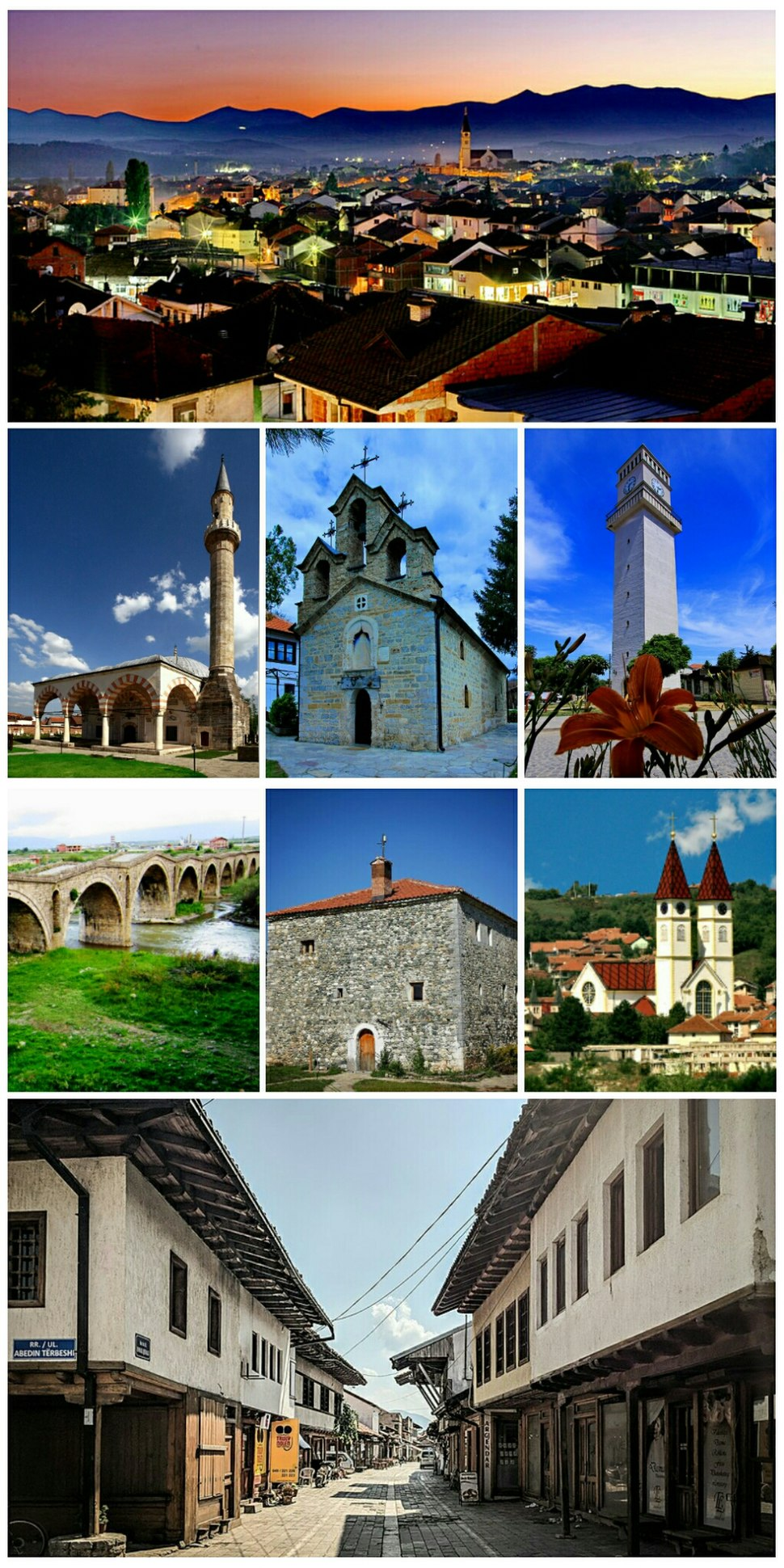 Đakovica collage