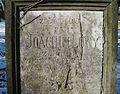 Židovský hřbitov (Zlonice), náhrobní deska.jpg
