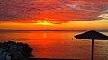 Ηλιοβασίλεμα παραλία Νικήτης Χαλκιδικής 4.jpg