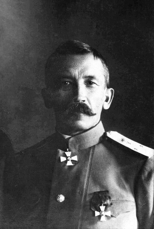 Генерал-лейтенант Л.Г. Корнилов в должности главнокомандующего войсками Петроградского военного округа